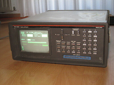 Philips PM3632  Aries ML4100 Logic Analyzer