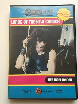 The Lords of the New Church : Live in London -Marquee 1984-rare DVD