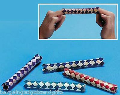Wholesale 144 Chinese Finger Traps Childrens Party Bag Toy Filler Birthday Gift