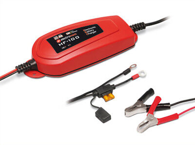 A2Zworld Chargers Maintainer For Battery Motorcycle Scooter 12V 1A