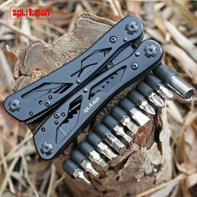 Lederman Camping Multi Tool Pliers In One Pliers Convenient Trim Knife 2018 New