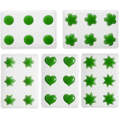 Transparent Plastic Mould For Floatig Candle Making Flower Heart Sun Star Round