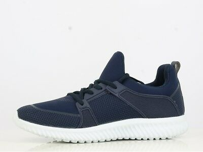 Mens Running Trainers Fitness Gym Running Sports Comfy Lace Up Shoes