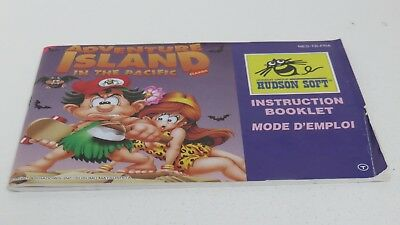 Adventure Island Classic - NES manual only