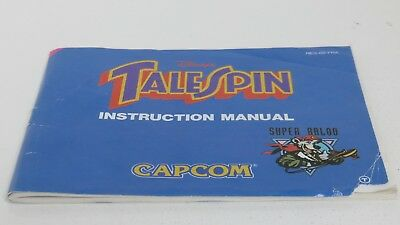 Talespin - NES manual only