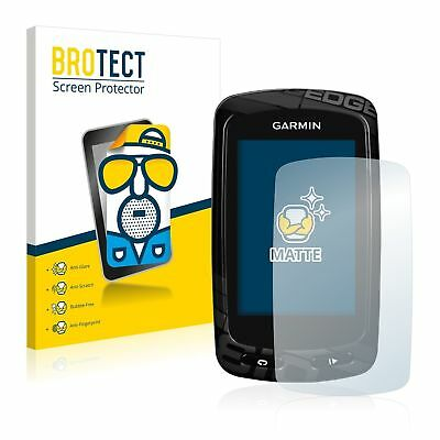 Garmin Edge 810 Hand Held , 2 x BROTECT® Matte Screen Protector hardcoated
