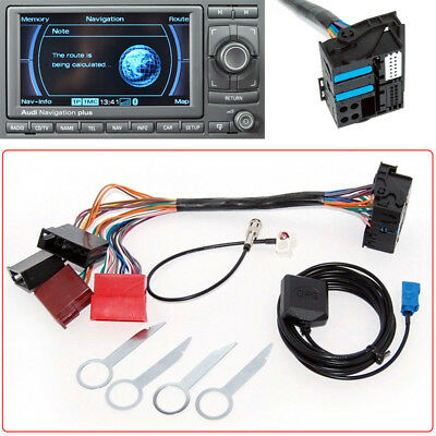 RNS-E GPS Navigation System Adapter Interface Retrofit Fit for Audi A3 A4 A6 S4