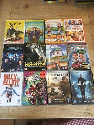Dvd bundle Mixed Entertainment And Adventure Good Condition
