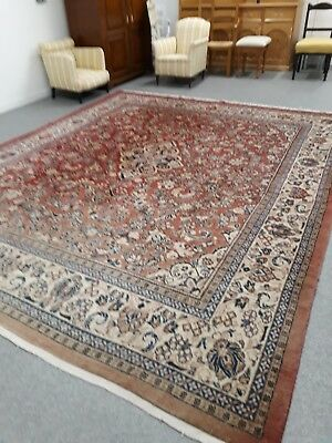 Large Persian Rug Vintage Rugs John Lewis Mahal Carpet Art