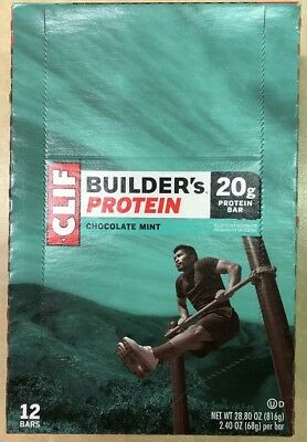 CLIF Builder Bars (24 bars) Out of date