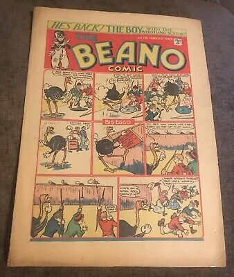 BEANO COMIC. 28th,MARCH,1942. **VERY RARE**