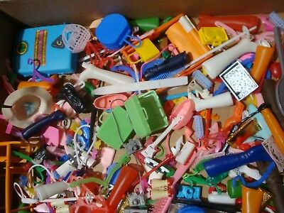 """mixed LOT 200x :: vintage play pretend toy DOLL ACCESSORY ~11"""" dolls accessories"""