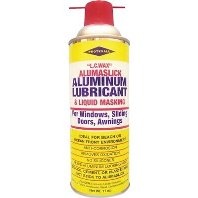 Protexall Window / Door Aluminum Wax Lubricant / Liquid Masking 11 Oz 22311