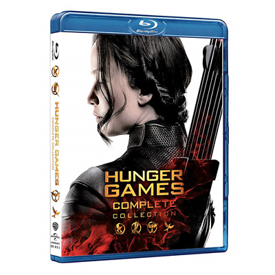 Hunger Games Collection (4 Blu-Ray)  [Blu-Ray Nuovo]