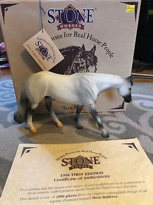 Stone Horses 9619 Mesa Believer Western Pleasure Horse Gray Limited to 2500pcs
