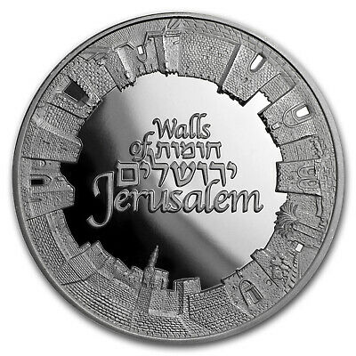 2018 Israel 1 oz Silver Walls of Jerusalem Proof - SKU#173171