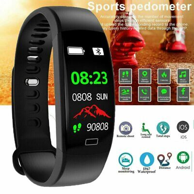 Wasserdicht IP68 Smartwatch Smart Sports Armband Fitness Tracker Uhr SAVFY