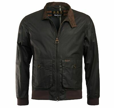 Barbour Hagart Wax Cotton Blouson Style Jacket