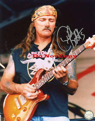 Dickey Betts Allman Brothers 8x10 autographed RP