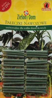 Fertilizer sticks - universal - for every plants - 30 pieces (with guano)