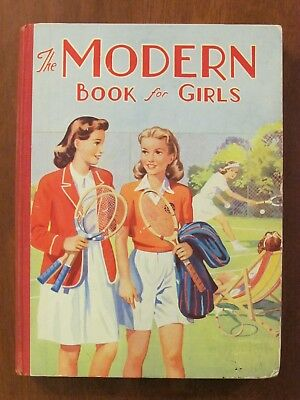 The Modern Book For Girls  Annual Birn Bros. Ltd