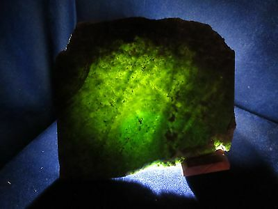 New Wyoming Nephrite / Jade -  Big Slab, 628 Grams, Vintage Collection Stock.
