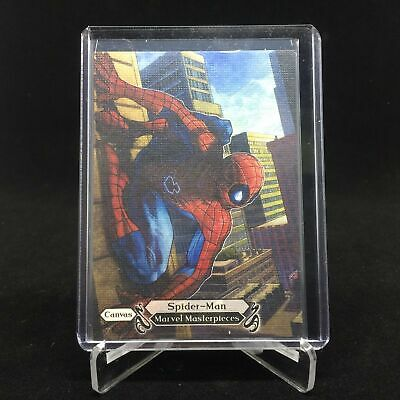 2018 Marvel Masterpieces SPIDER-MAN Canvas #99