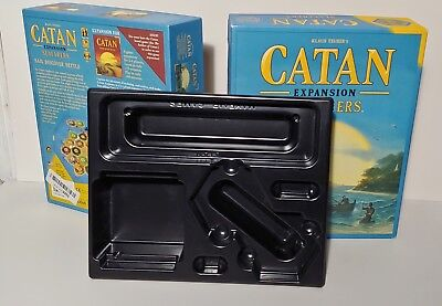 Box only Catan fifth edition seafarers