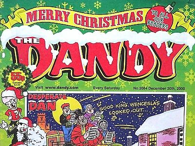 DANDY - CHRISTMAS ISSUE !! 30th DECEMBER 2000 - RARE & COLLECTABLE !! FINE+