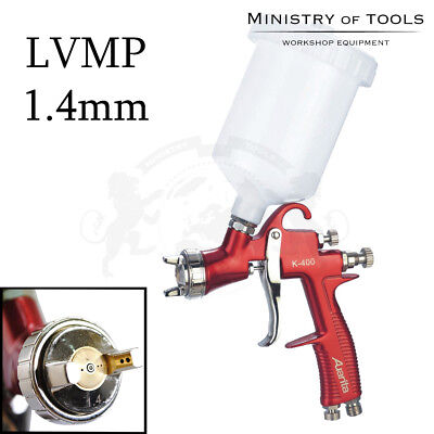 1.4mm LVMP Low Volume Medium Pressure Spray Gun K-400 Auarita pistola a spruzzo