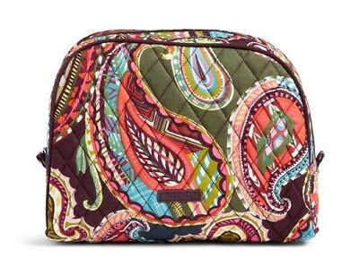 2934147c36dd VERA BRADLEY~Large Zip Cosmetic Bag~HEIRLOOM PAISLEY~Brand New with Tag!