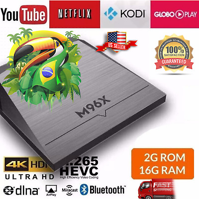 FREE 400+ CHANNELS BRAZIL Portuguese M96X TV Box IPTV 2019 ORIGINAL NO ADS