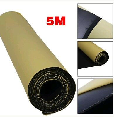 5M Self Adhesive Car Sound Proofing Deadener Insulation Roll Closed Cell Foam