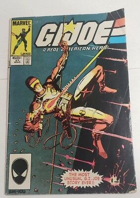 Gi Joe #21 ~ 1ST APPEARANCE STORM SHADOW (1983, Marvel)