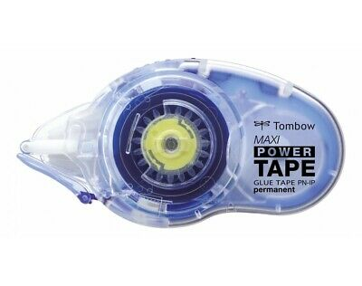 Tombow Kleberoller Maxi Power Tape permanent Nachfüllbar 8,4 mm x 16 m Blister
