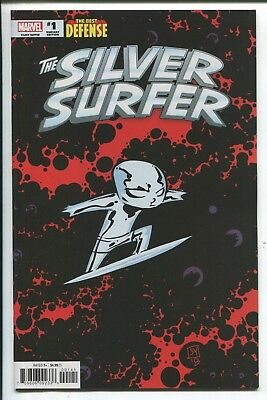 Silver Surfer: The Best Defense #1 Skottie Young Baby Variant Cover  Marvel/2018
