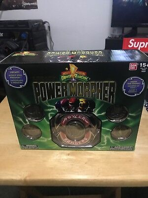 Mighty Morphin Power Rangers Legacy Morpher Red Blue Black Pink Yellow Sounds