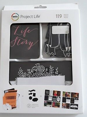 Project Life Chalkboard Value Kit (119) PCS