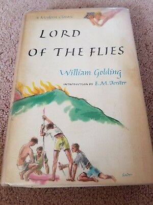 Lord of the Flies William Golding. EM Forster Intro 1962. CowanMcCann. Hardcover