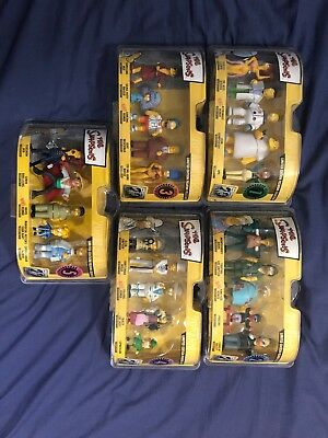 The Simpsons Limited Edition Figurine Collection 1 2 3 4 5 TV Memorabilia