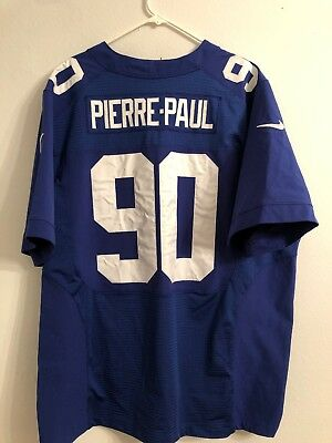 57c69cd80 NIKE ON FIELD NFL New York Giants  90 Jason Pierre-Paul Jersey Mens ...