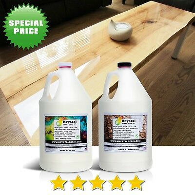 2 Gallons Epoxy Resin Kit, Table Tops, Artworks, Free Fast Shipping From Toronto