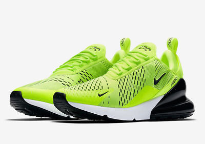 Nike Air Max 270 Volt Black White AH8050-701 Men's NEW