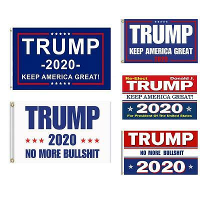 Trump 2020 Keep America Great President Donald Make America Great 3x5 Ft Flag