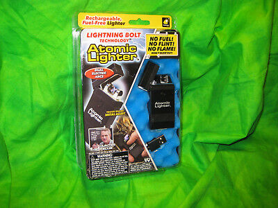 Lighter Atomic Rechargeable USB Windproof As Seen On TV Electronic Lighter New