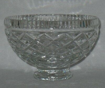 Waterford Crystal Killeen Comeragh Adare Tyrone Alana Footed Bowl