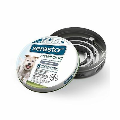 Bayer Seresto Flea and Tick Collar for Dogs Dog- under 18 lb New