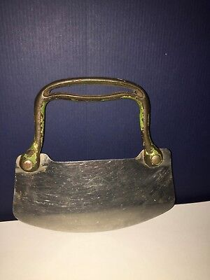 Vintage UNITOOL Chopper Cast Iron Stainless Steel Retro Kitchen Collectible