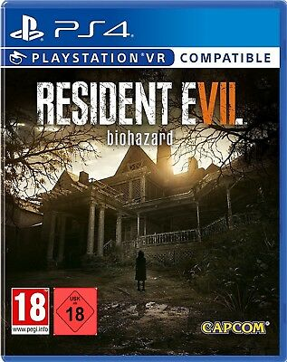 PS4 Game Resident Evil 7 Biohazard VR Compatible New