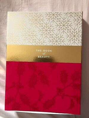 M&S 2018 Beauty Advent Calendar The Book of Beauty Value £280 New